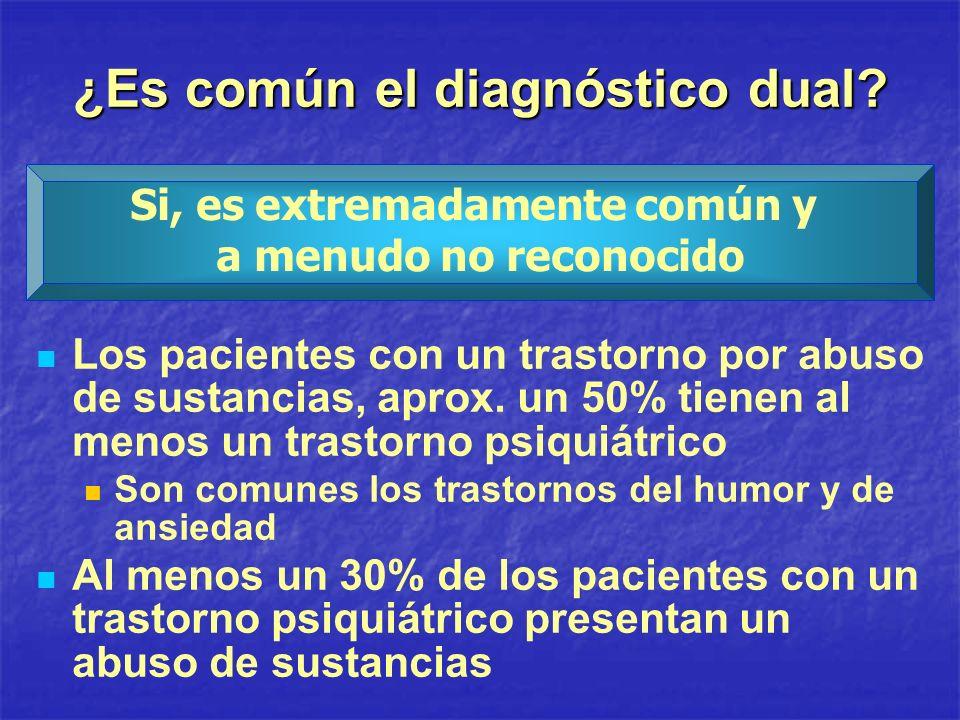 ¿Es común el diagnóstico dual