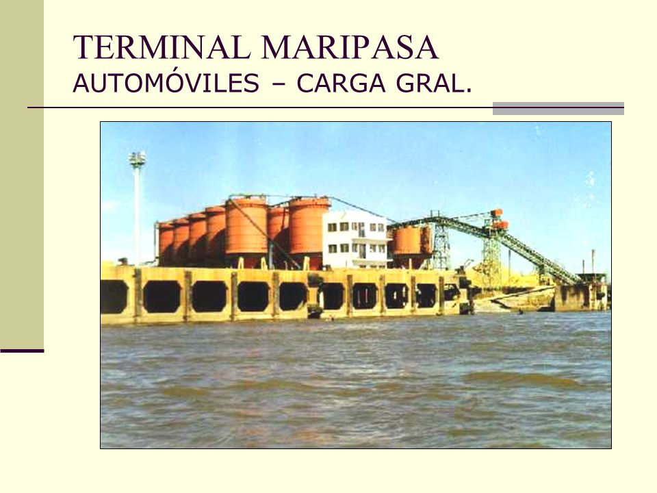 TERMINAL MARIPASA AUTOMÓVILES – CARGA GRAL.