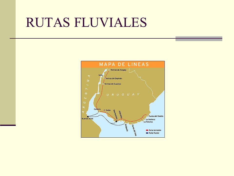 RUTAS FLUVIALES