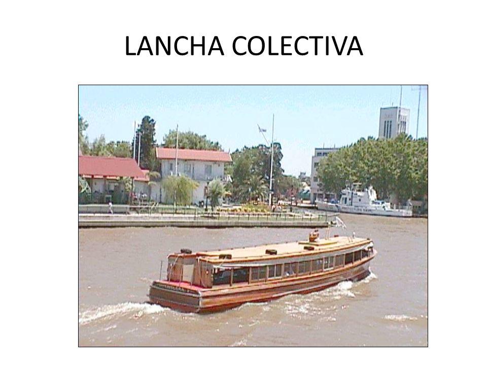 LANCHA COLECTIVA