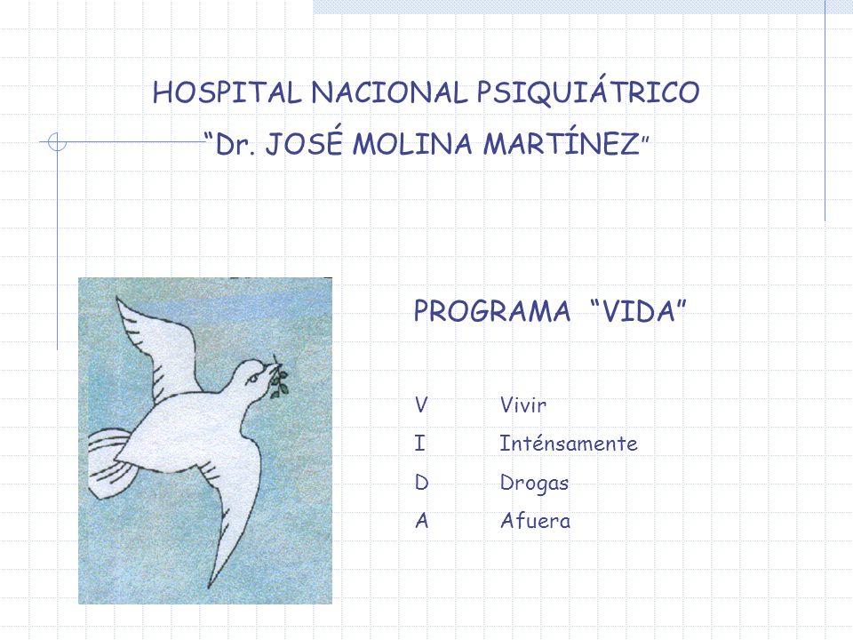 HOSPITAL NACIONAL PSIQUIÁTRICO Dr. JOSÉ MOLINA MARTÍNEZ