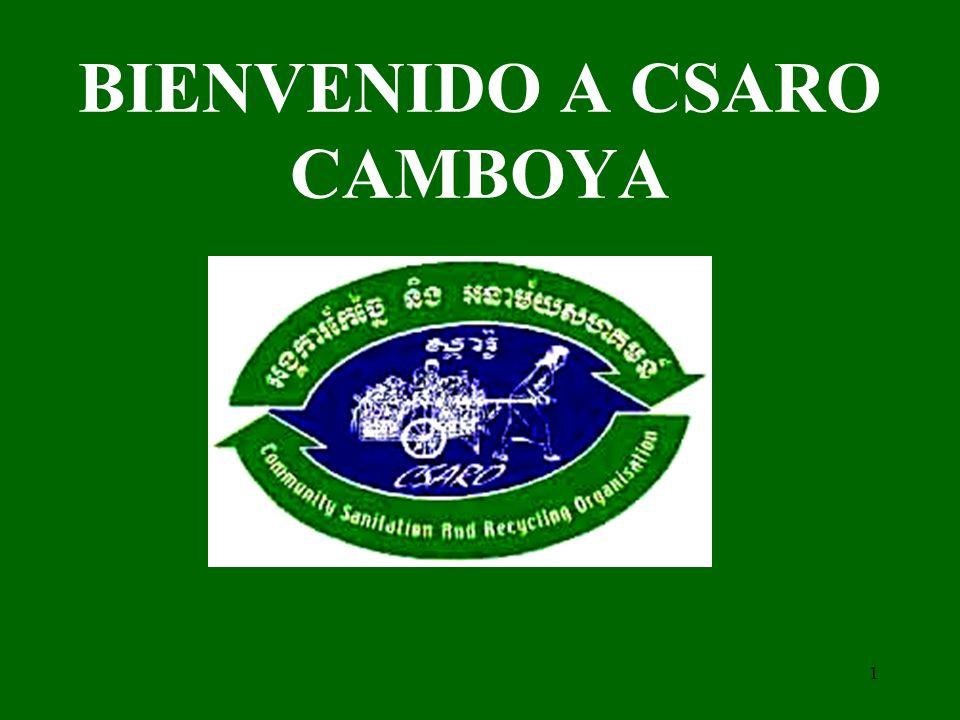 BIENVENIDO A CSARO CAMBOYA