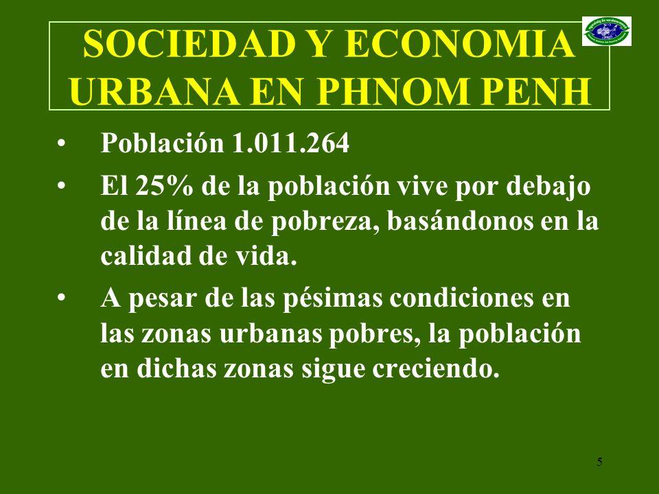 SOCIEDAD Y ECONOMIA URBANA EN PHNOM PENH