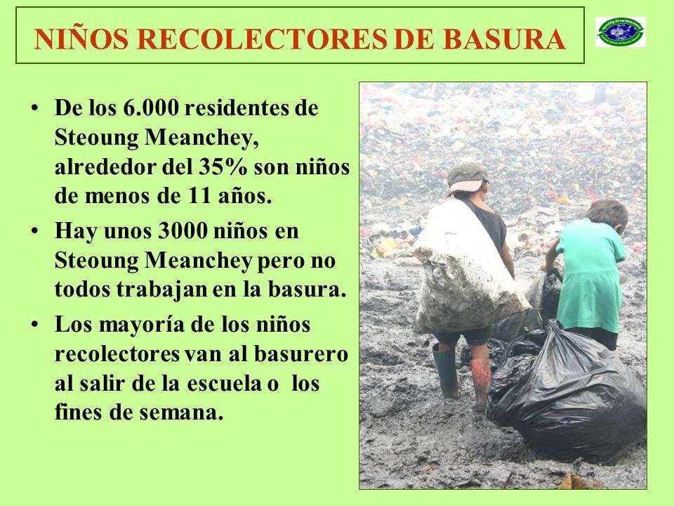 NIÑOS RECOLECTORES DE BASURA