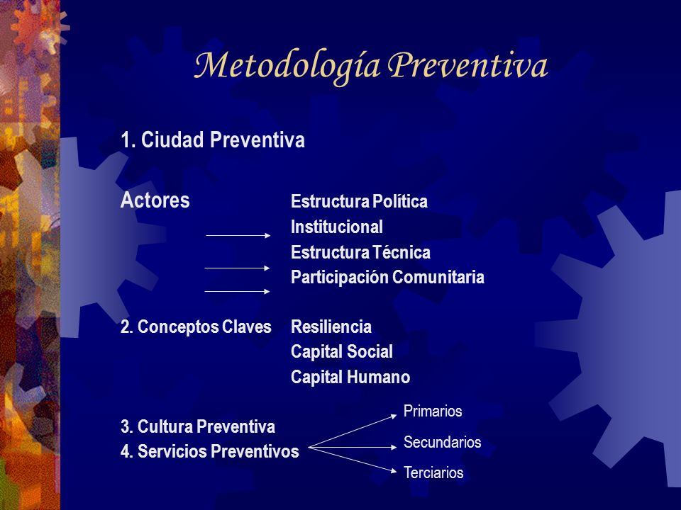Metodología Preventiva