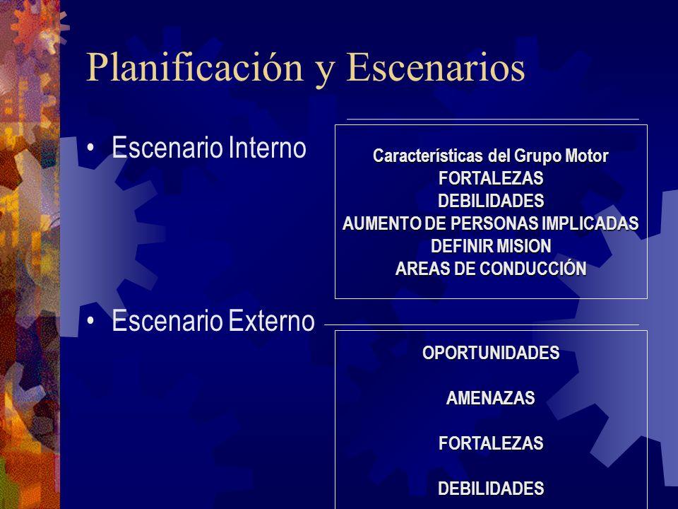 Planificación y Escenarios