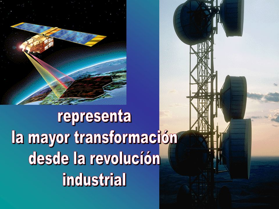 la mayor transformación