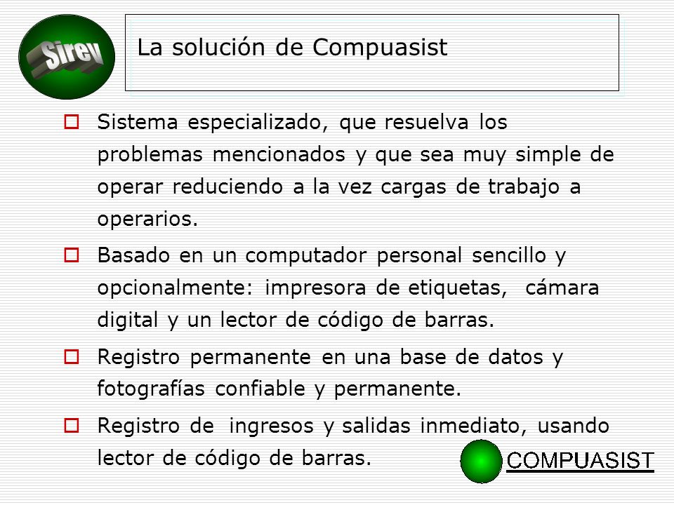 La solución de Compuasist