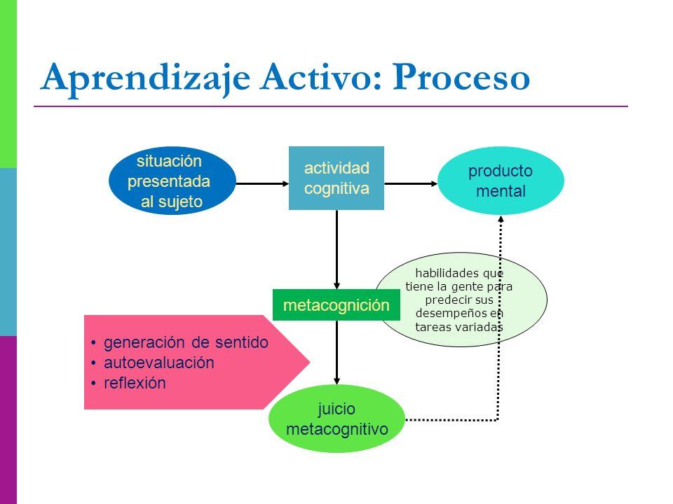 Aprendizaje Activo: Proceso