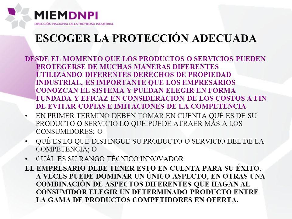 ESCOGER LA PROTECCIÓN ADECUADA