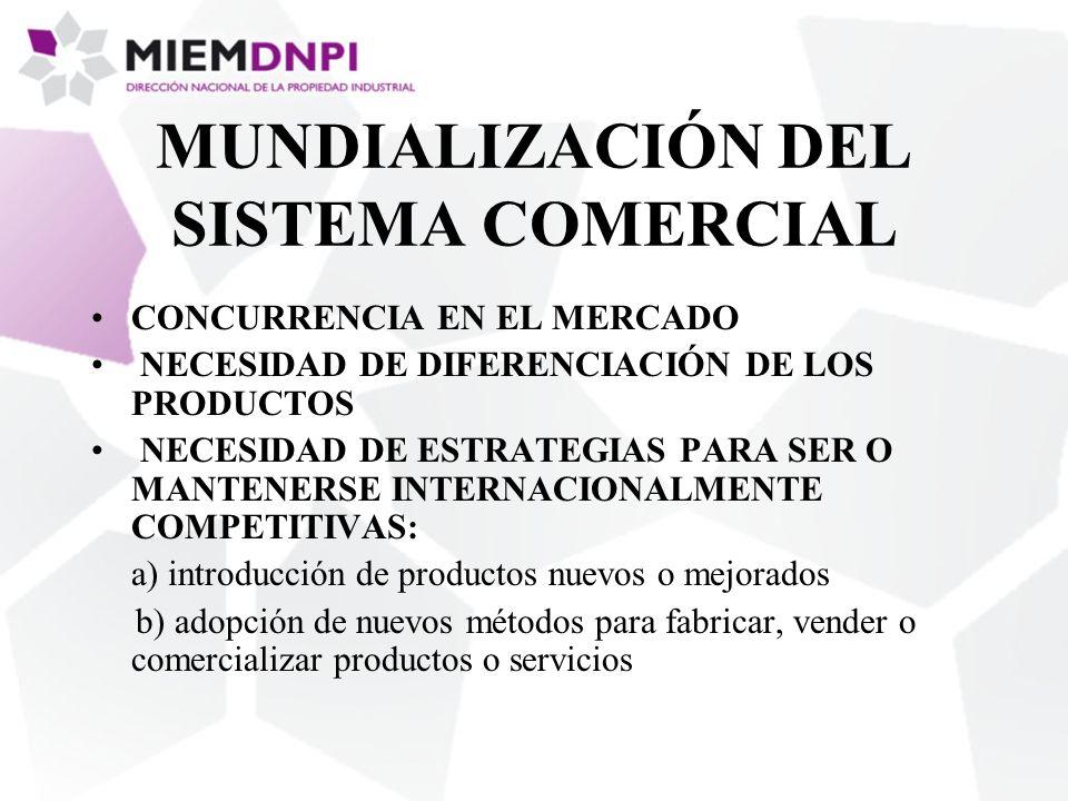 MUNDIALIZACIÓN DEL SISTEMA COMERCIAL