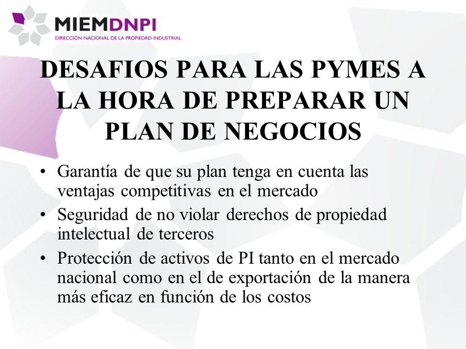 DESAFIOS PARA LAS PYMES A LA HORA DE PREPARAR UN PLAN DE NEGOCIOS