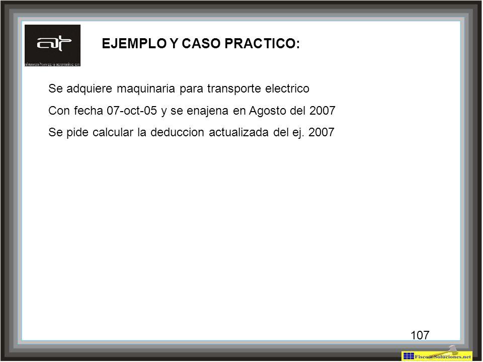 EJEMPLO Y CASO PRACTICO: