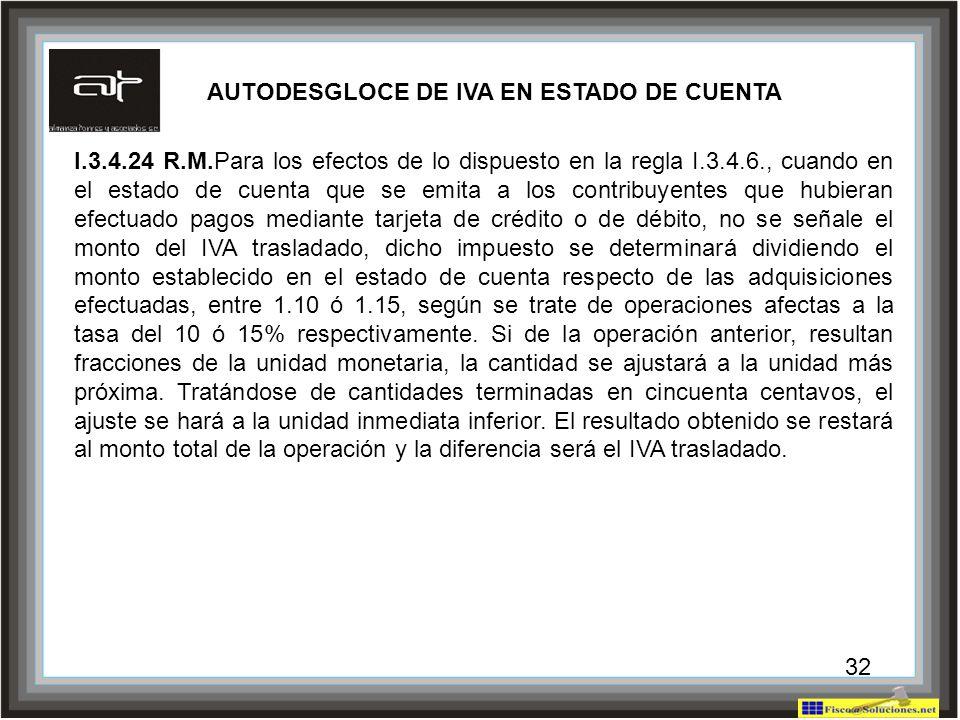 AUTODESGLOCE DE IVA EN ESTADO DE CUENTA