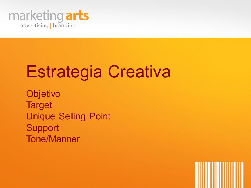 Estrategia Creativa Objetivo Target Unique Selling Point Support