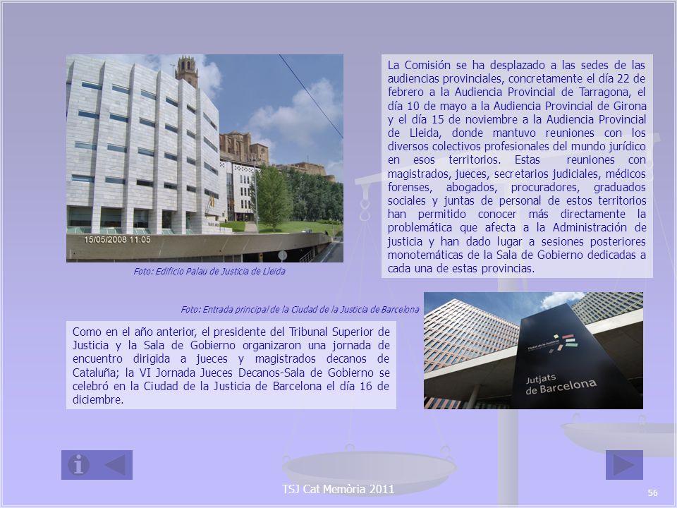 Foto: Edificio Palau de Justicia de Lleida