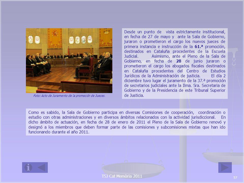 Foto: Acto de Juramento de la promoción de Jueces.