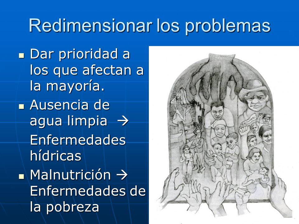 Redimensionar los problemas