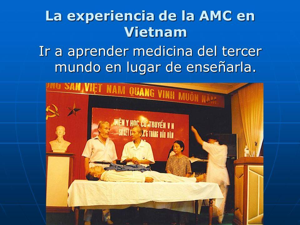 La experiencia de la AMC en Vietnam