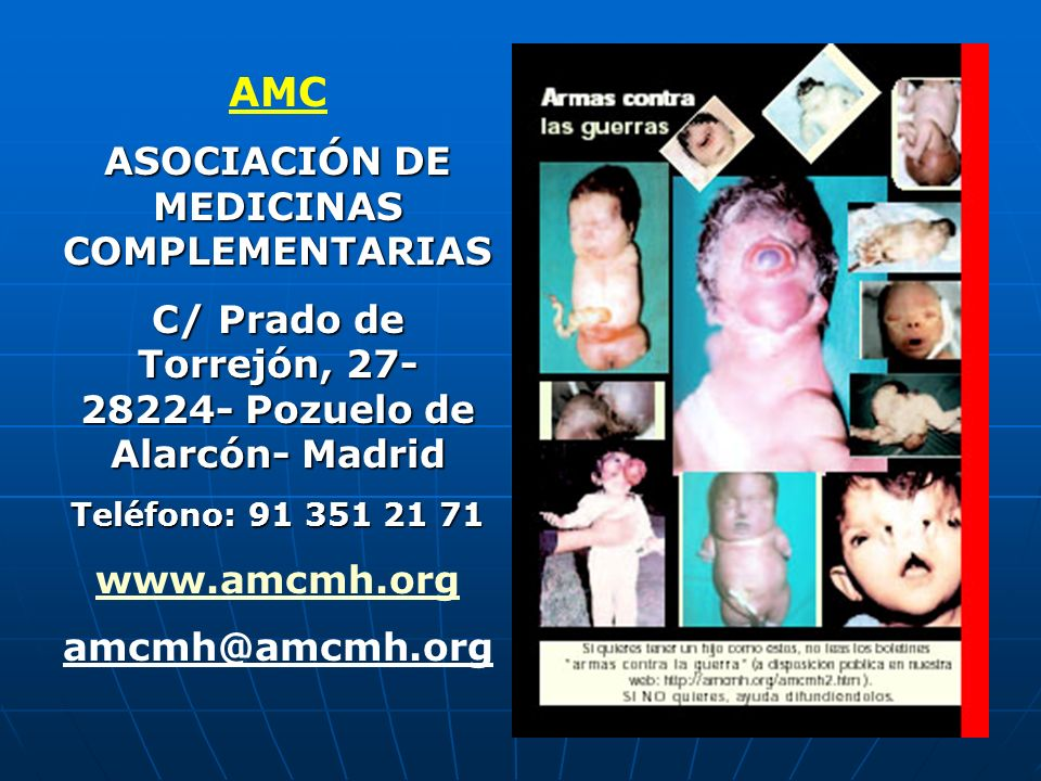 AMC ASOCIACIÓN DE MEDICINAS COMPLEMENTARIAS