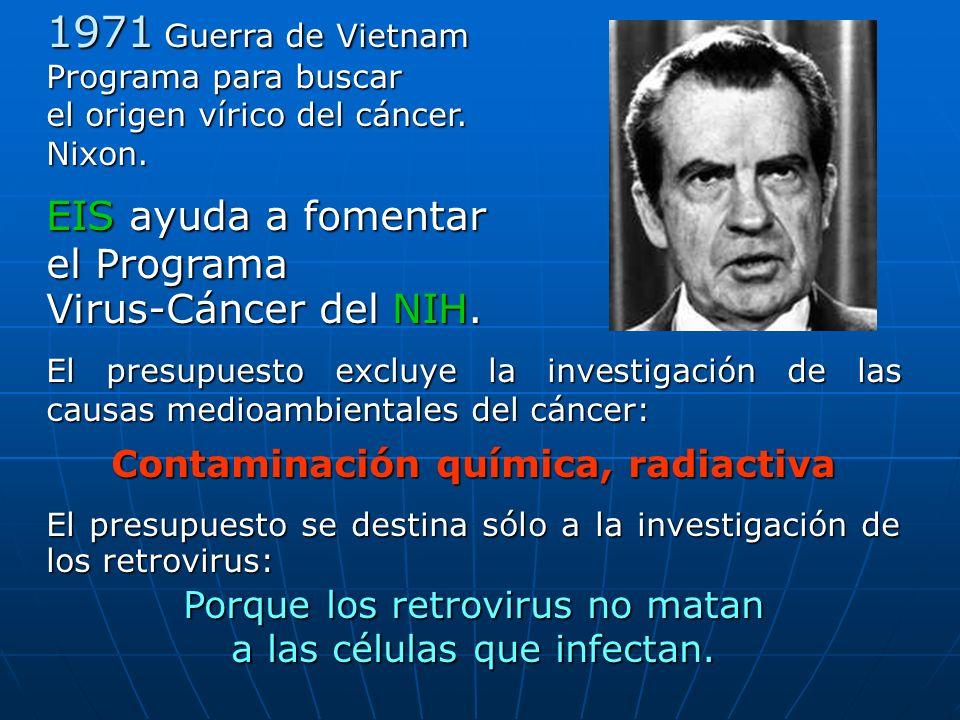Contaminación química, radiactiva