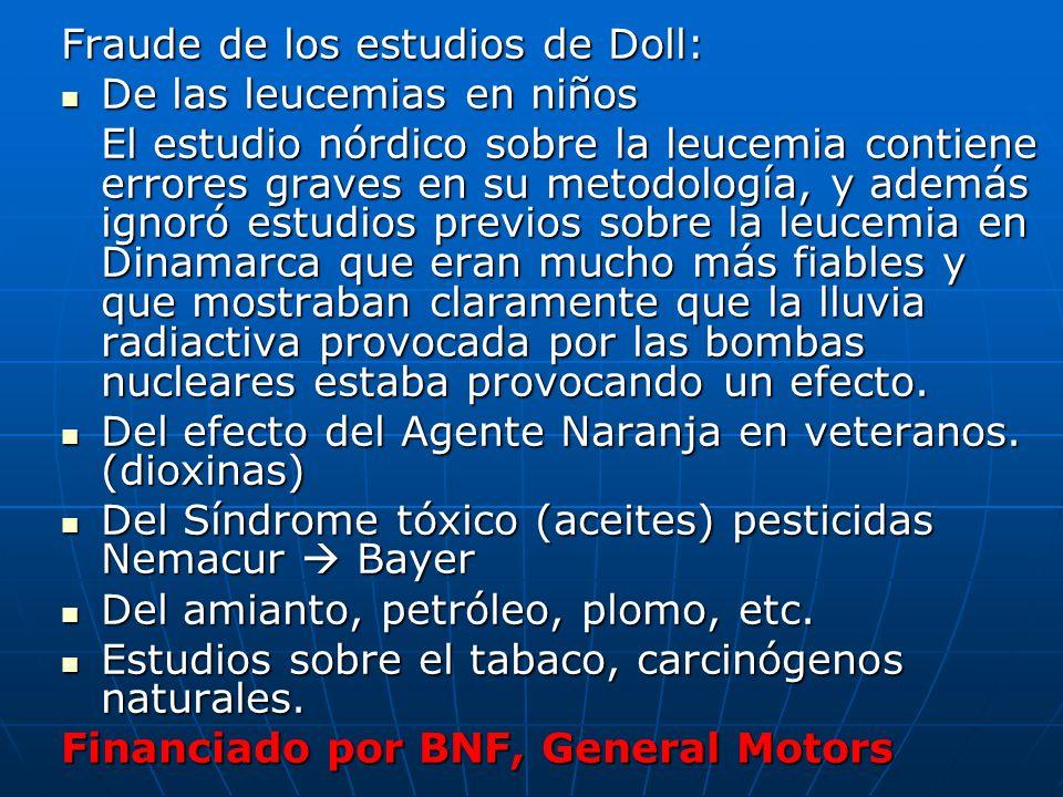 Fraude de los estudios de Doll: