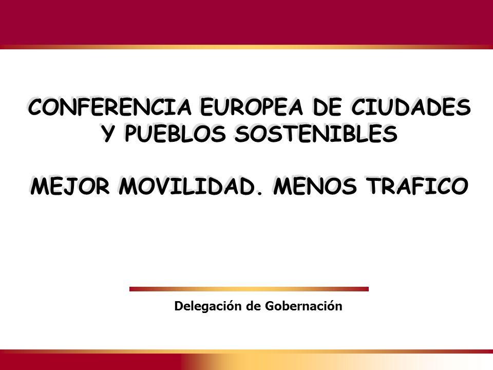 CONFERENCIA EUROPEA DE CIUDADES Y PUEBLOS SOSTENIBLES