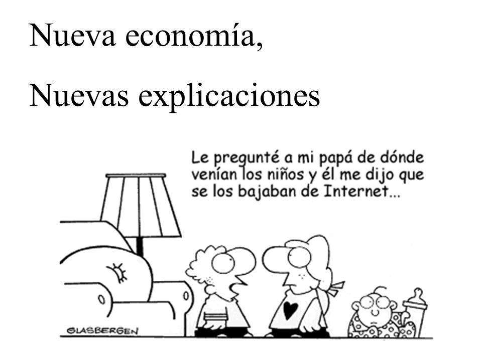 Nueva economía, Nuevas explicaciones