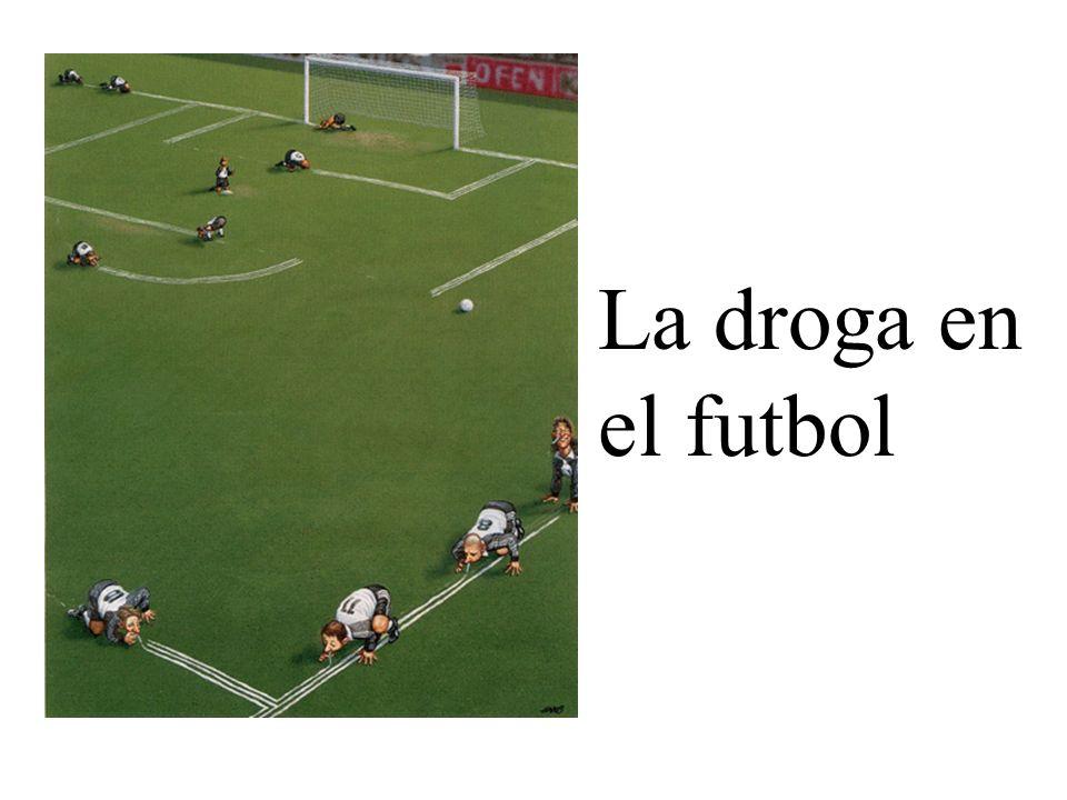 La droga en el futbol