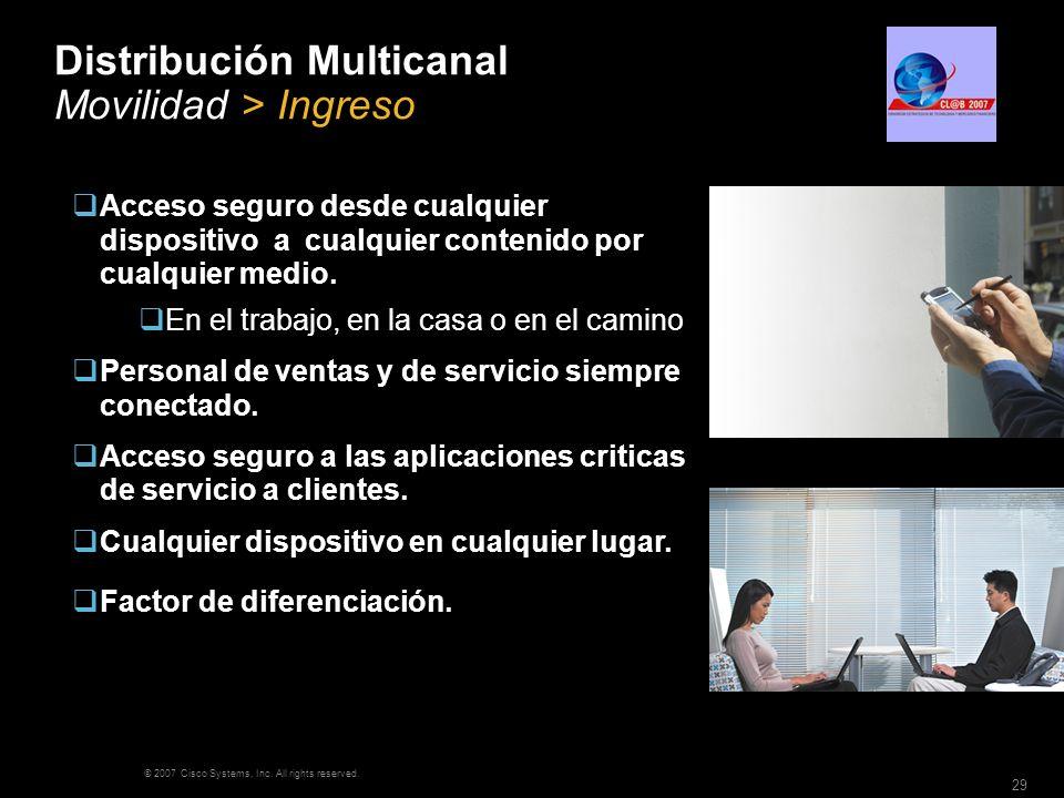 Distribución Multicanal Movilidad > Ingreso