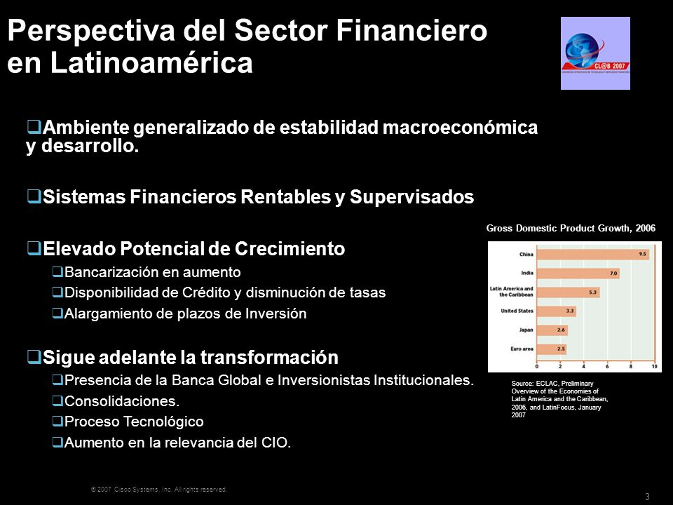 Perspectiva del Sector Financiero en Latinoamérica