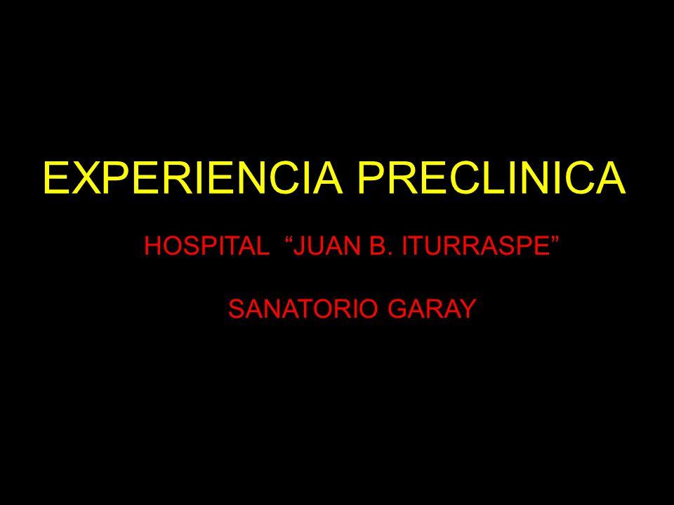 HOSPITAL JUAN B. ITURRASPE