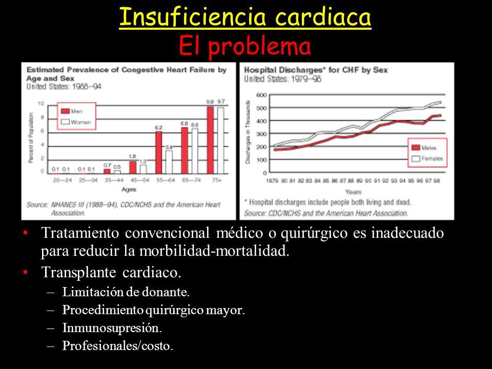 Insuficiencia cardiaca El problema