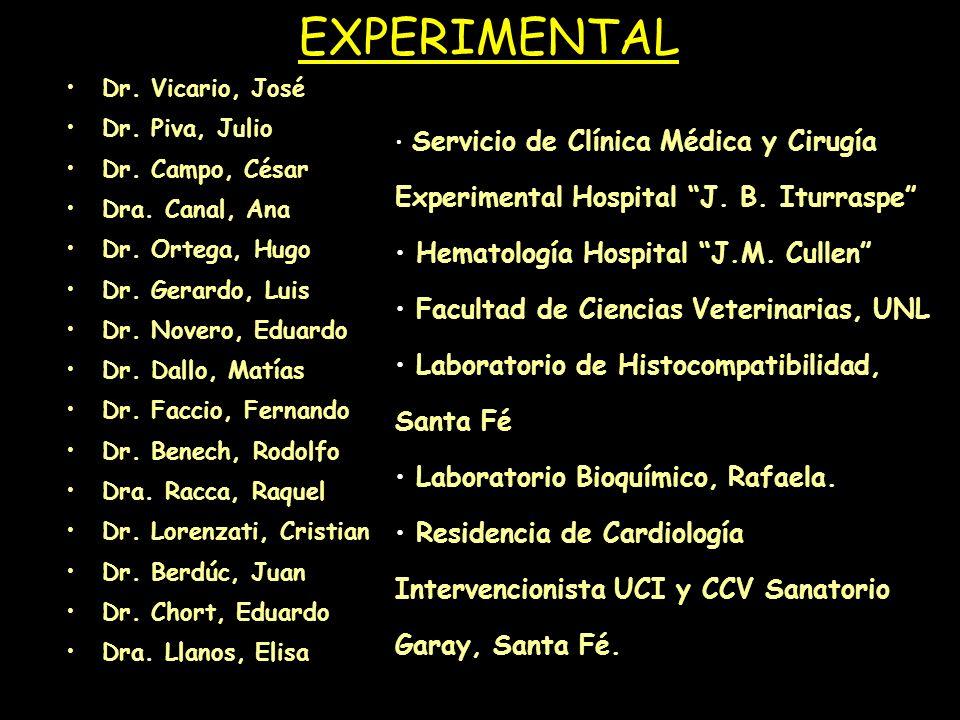 EXPERIMENTAL Hematología Hospital J.M. Cullen