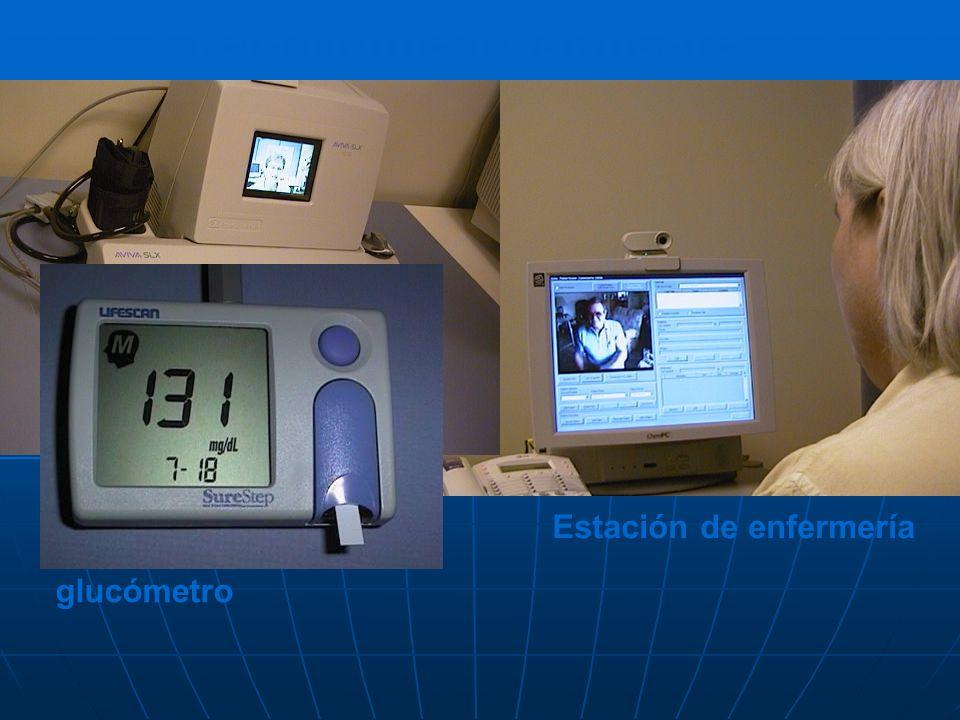 Tele-Home Healthcare Patient Home Station Estación de enfermería