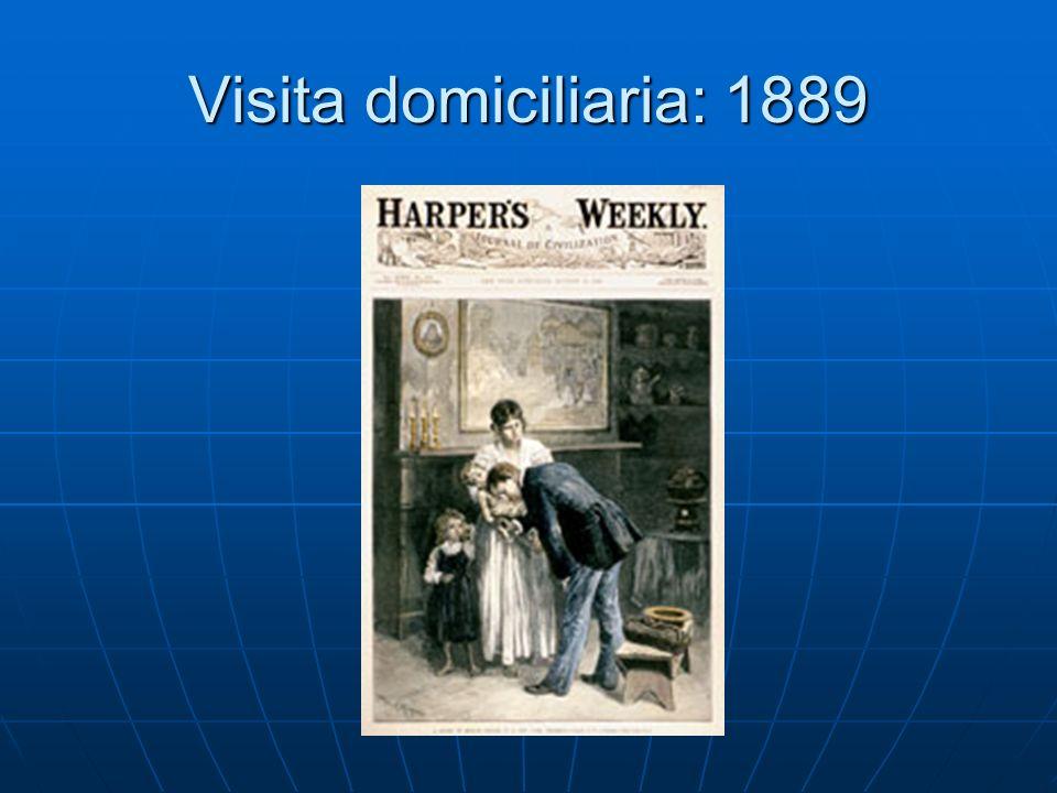 Visita domiciliaria: 1889