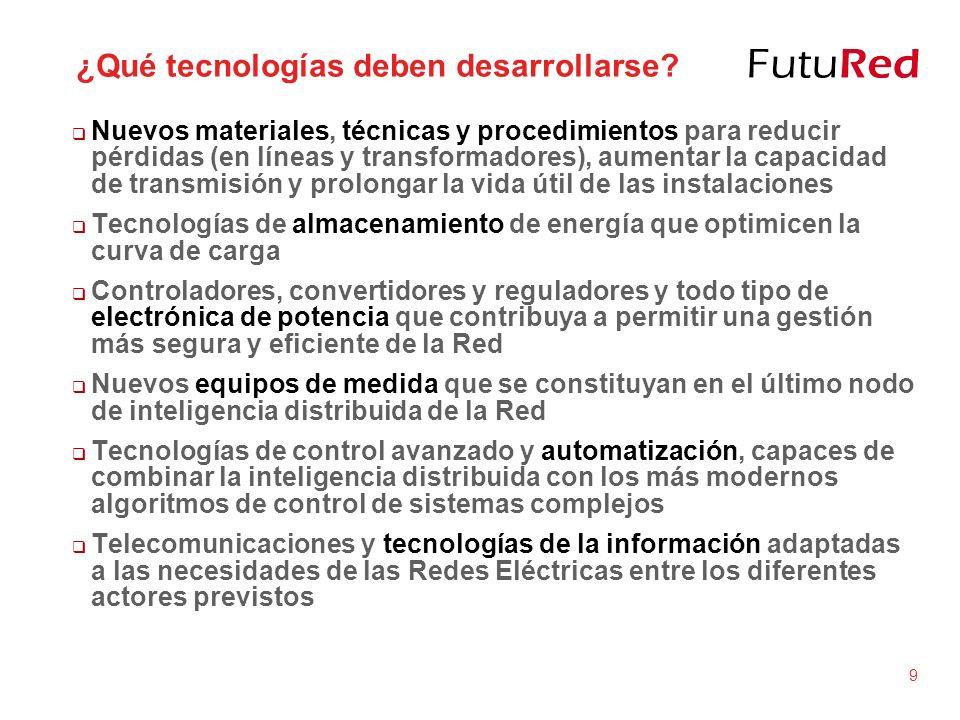 ¿Qué tecnologías deben desarrollarse