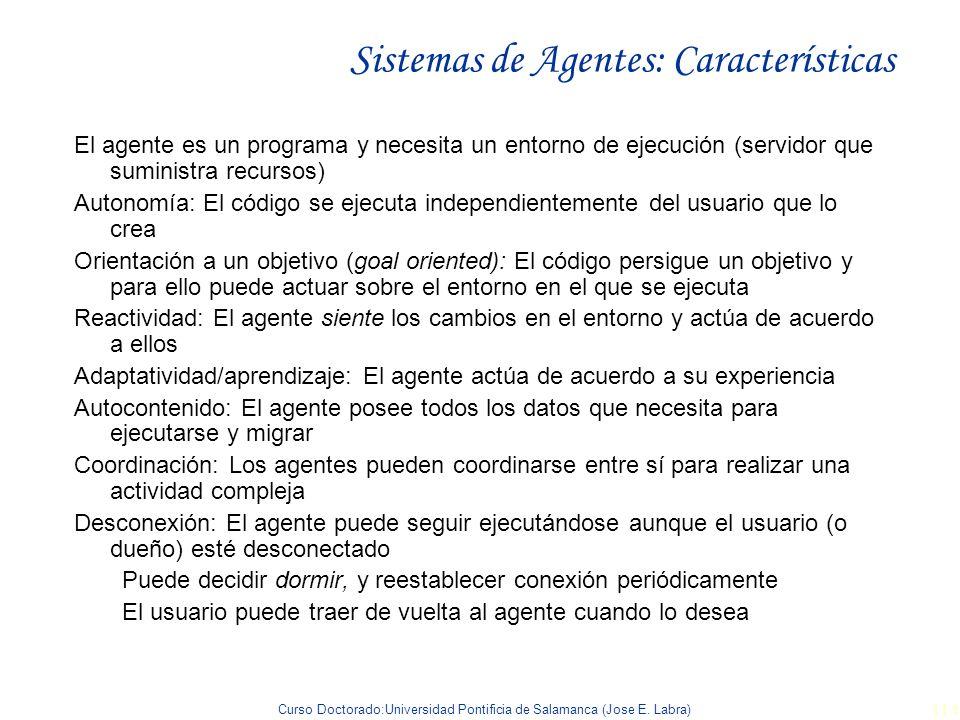 Sistemas de Agentes: Características