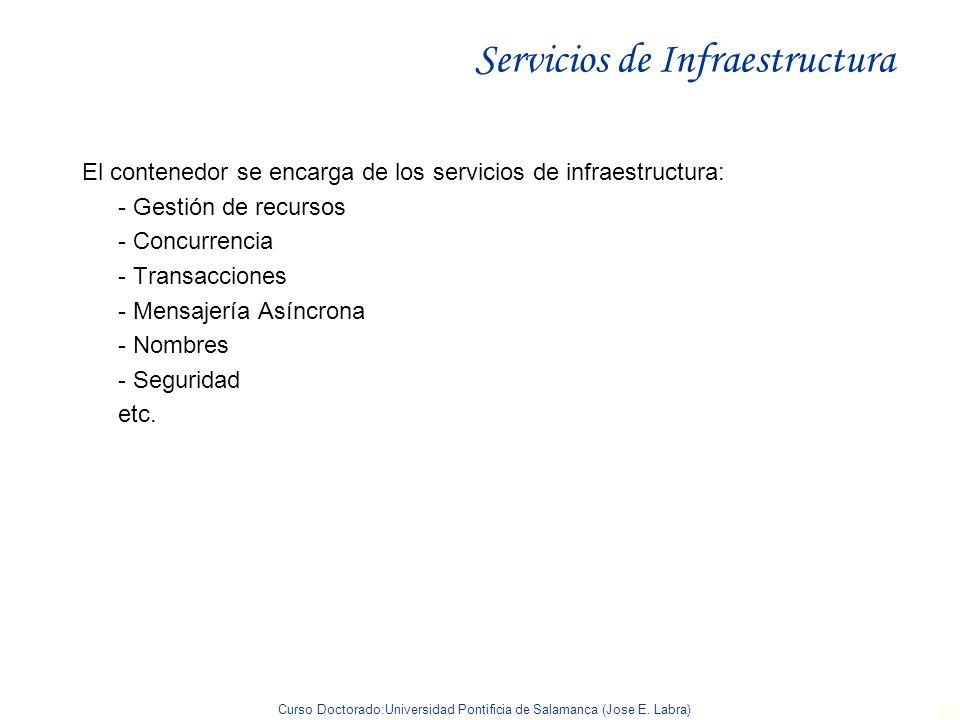 Servicios de Infraestructura