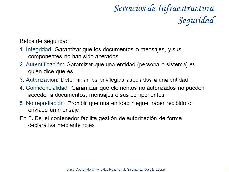 Servicios de Infraestructura Seguridad