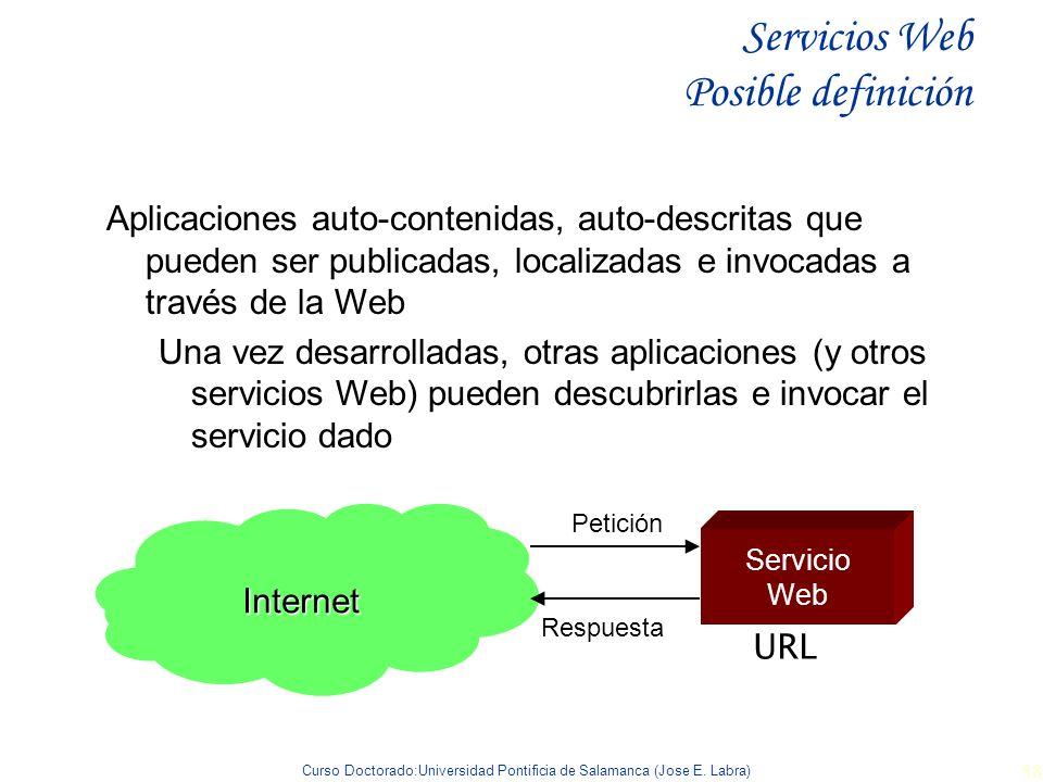 Servicios Web Posible definición