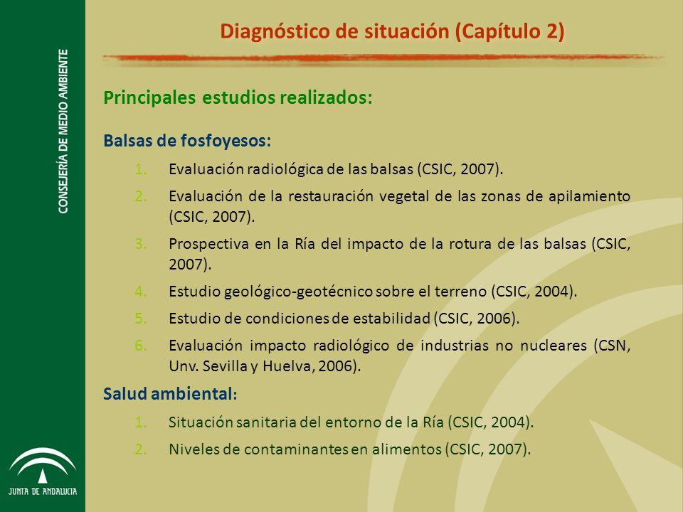 Diagnóstico de situación (Capítulo 2)