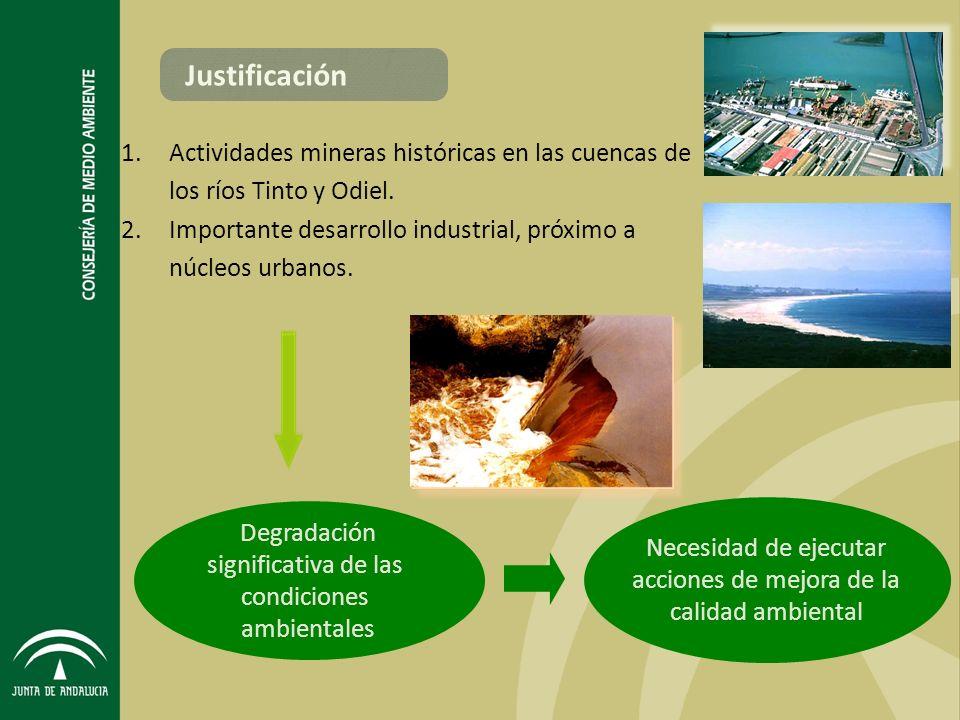 Necesidad de ejecutar acciones de mejora de la calidad ambiental
