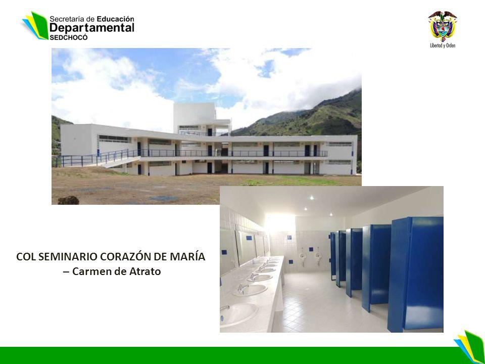 COL SEMINARIO CORAZÓN DE MARÍA