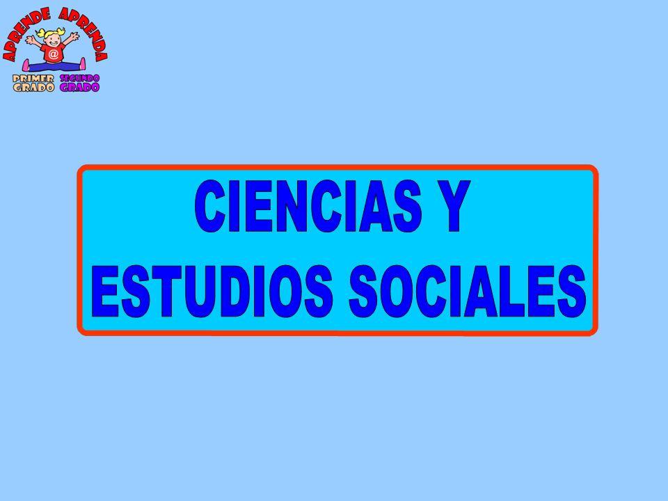 CIENCIAS Y ESTUDIOS SOCIALES