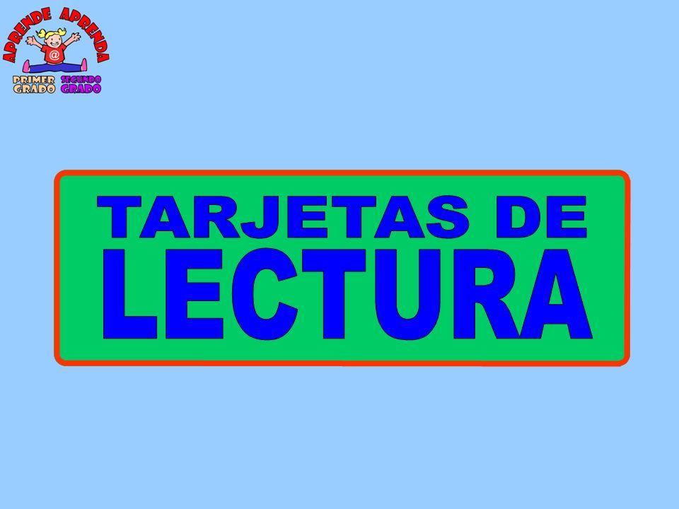 TARJETAS DE LECTURA