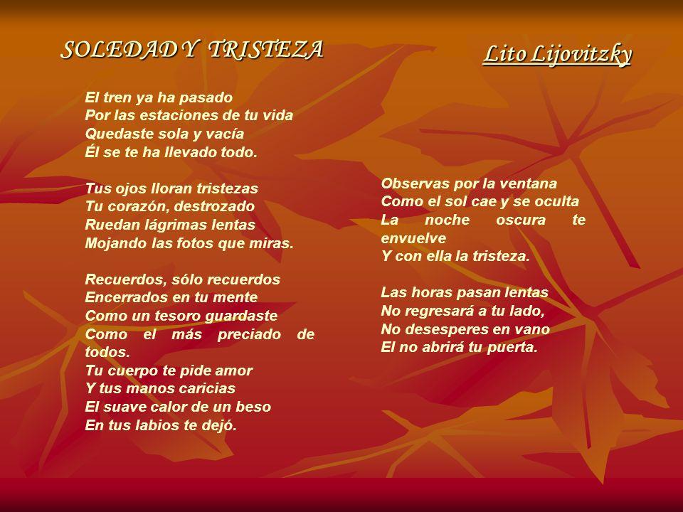 SOLEDAD Y TRISTEZA Lito Lijovitzky