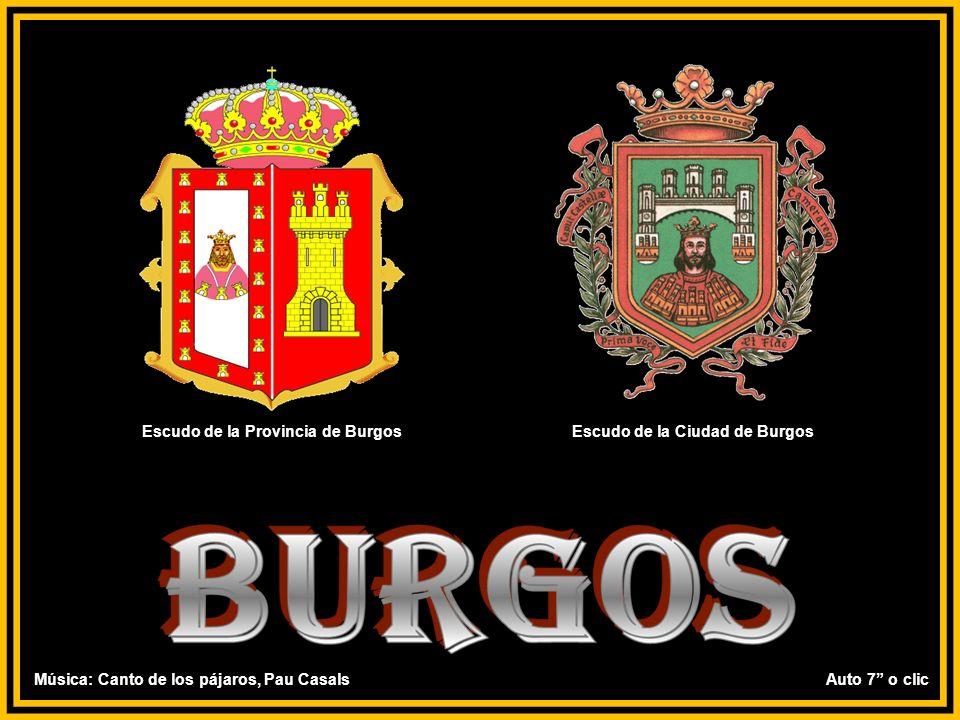 Escudo de la Provincia de Burgos Escudo de la Ciudad de Burgos