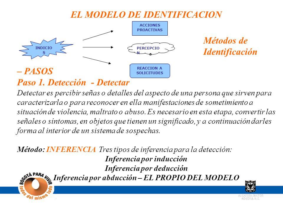 EL MODELO DE IDENTIFICACION