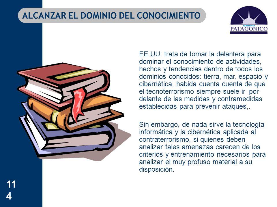 ALCANZAR EL DOMINIO DEL CONOCIMIENTO